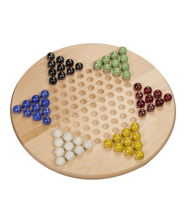 Look at this Chinese Checkers Set on #zulily today ...