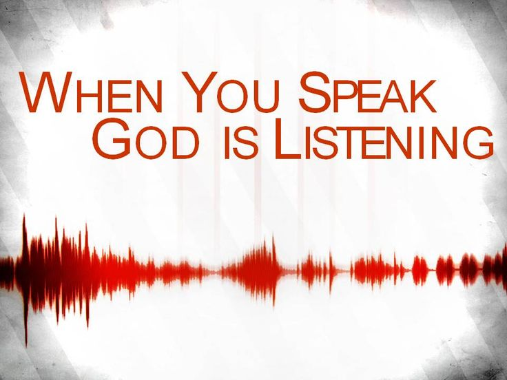 Image result for god listens