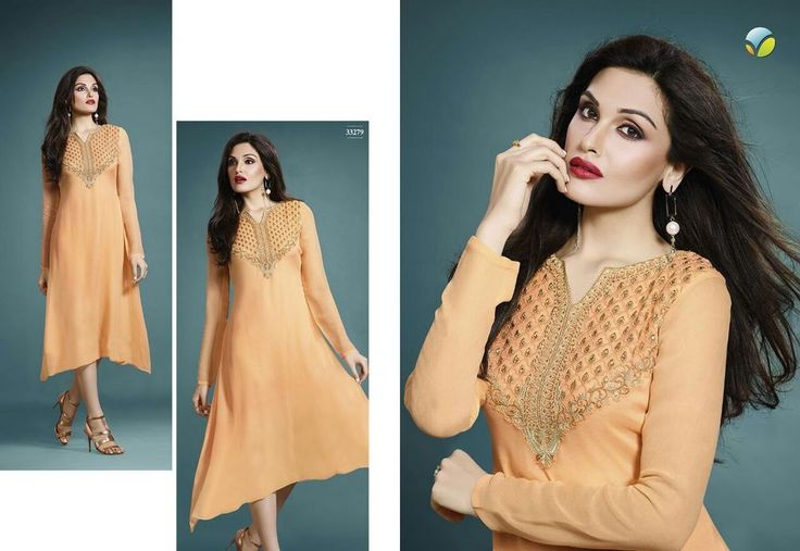 Indian Ethnic Designer Salwar Kameez Pakistani Dress latest Readymade Kurti Fncy