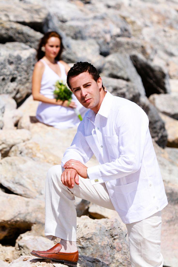 Beach Wedding attire for groom - 102 | JK Guayaberas