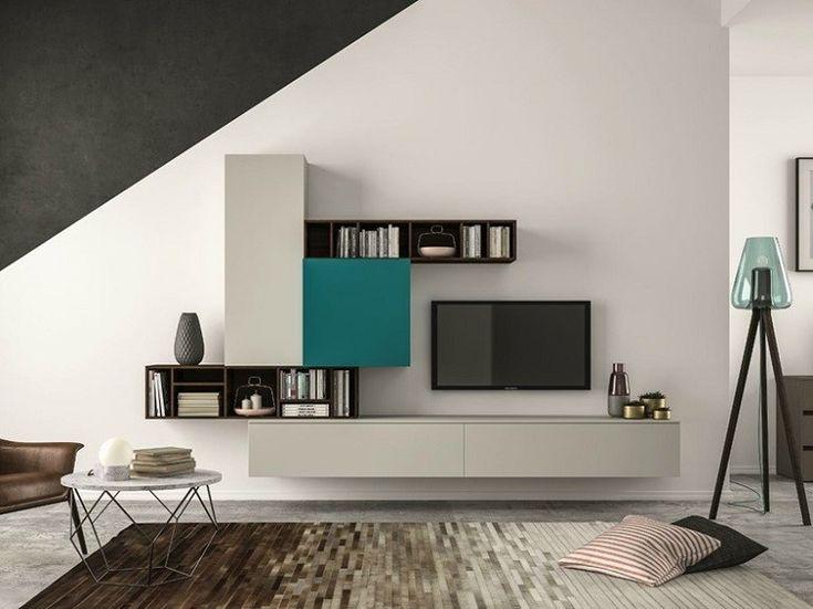 estantes modulares de diseño moderno