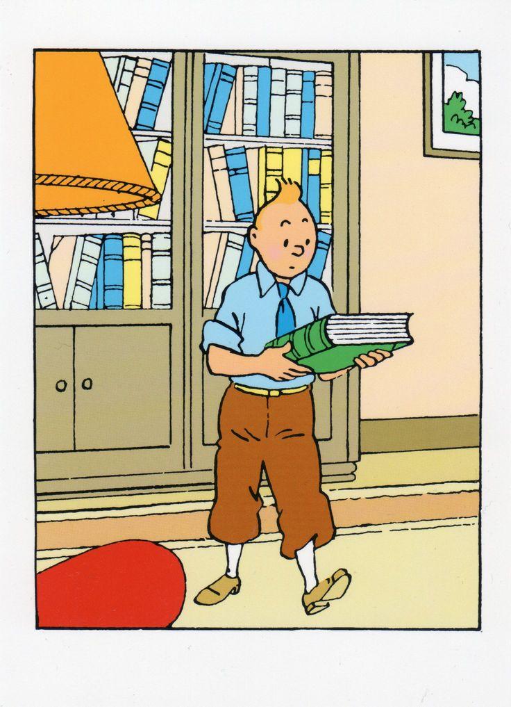 I love reading Tintin!
