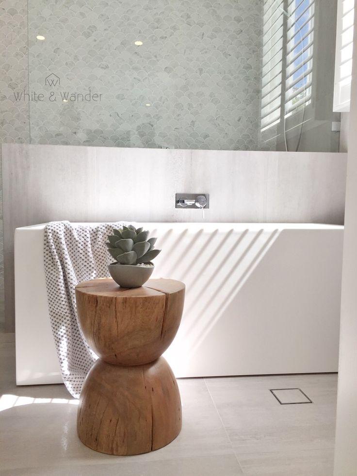 Gorgeous scandi look bathroom from threebirdsreno