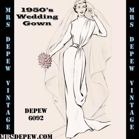 Sheath Wedding Gown Pattern : Sheath wedding gown on relaxed dress