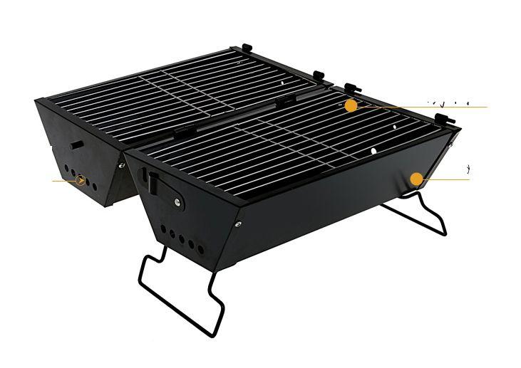 Aliexpress.com : Acquista trasporto libero di nuovo disegno pieghevole barbecue grill all'aperto utilizzando griglia a carbone griglia esterna da Fornitori grill fumatore affidabili su Ares Sports