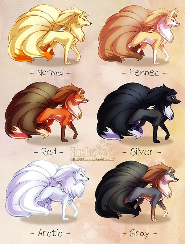 Some people were interested in the Ninetales version so here it is! :) It's just the same color scheme as the Vulpix one, so don't expect big changes. - Vulpix -