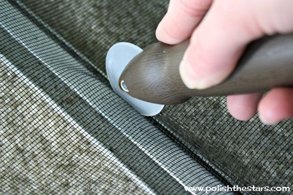 How To Replace Window Screens:  I've done this myself, it's pretty easy:)  I use the old spline most of the time.