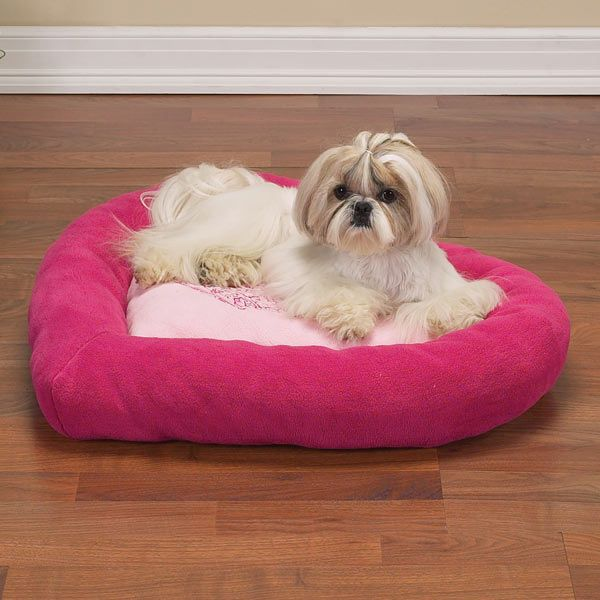 heart dog bed