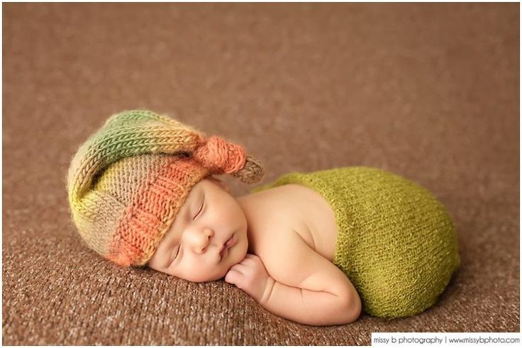 Woodland Newborn Photos with Baby Mason