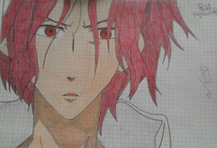 Drawing of Elisa.D - Rin - Free!