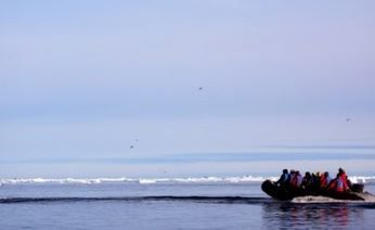50 Let Pobedy icebreaker set sailed on a tourist trip to the North Pole - Tourism: Arctic-Info