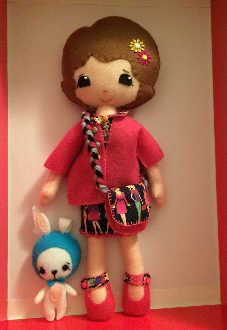 Clara & Pearl  - pattern Gingermelon