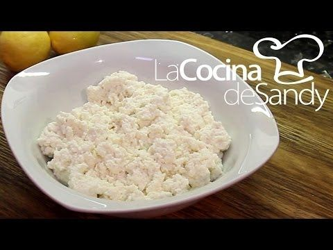 Como hacer ricota o requeson en 10 minutos - Recetas rapidas de ricota - recetas rapidas ricotta - YouTube