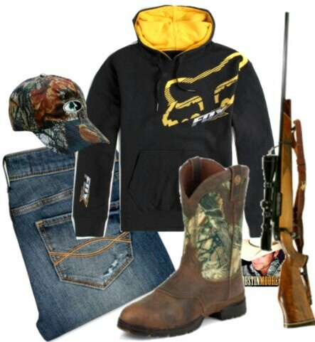 Fox racing country outfit