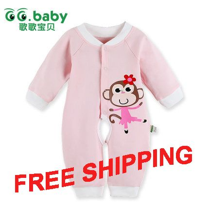 Find More Rompers Information about Spring Autumn Long Sleeve Newborn Baby Girl Clothing Monkey Girls Romper Cute Romper Baby Body Suit & Baby Boy Overalls,High Quality romper women,China romper clothes Suppliers, Cheap clothing romper from GG. Baby Flagship Store on Aliexpress.com