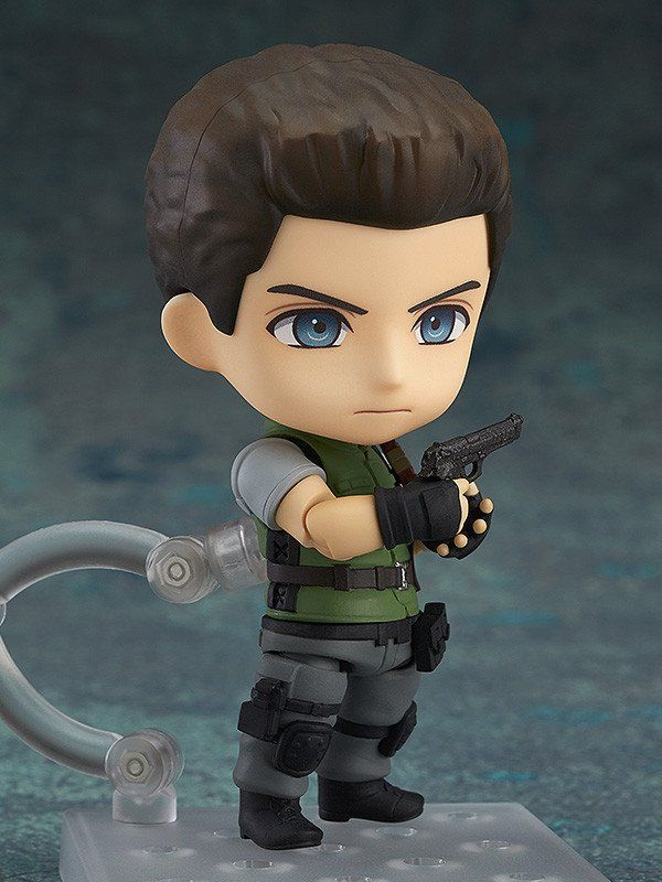 """Pre-Order Release Date: April 2017 """"The fear... of walking there"""" From the popular game series that reached its 20th anniversary in 2016, 'Resident Evil' comes a Nendoroid of Chris Redfield! The figur"""