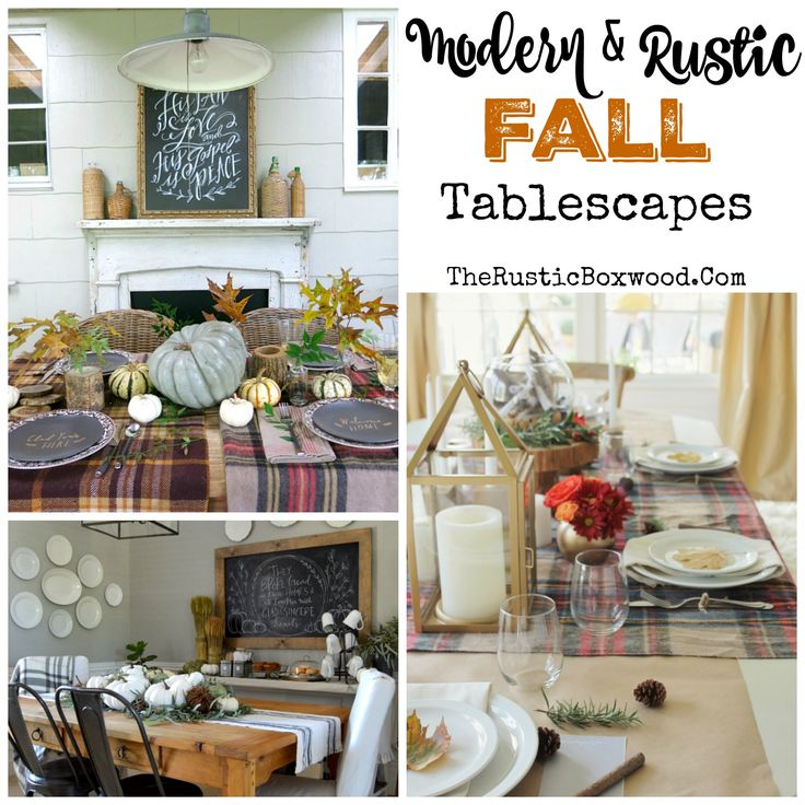 50 best images about fall decorating on pinterest for Modern fall table decorations