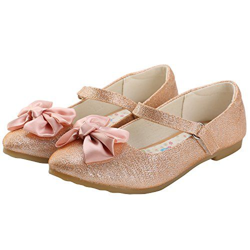 8068c4a7bf8 Petit Bari Girl¡¯s Cute Bowknot Mary Jane Ballet Flat Shoes | Girl's ...