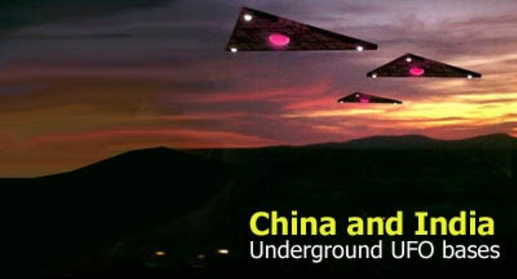Underground UFO bases in China