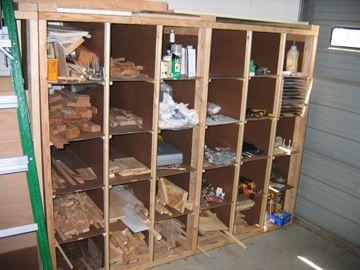 Woodshop Wood Storage Ideas Lumber Cart On Wheels To