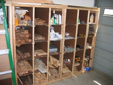 Woodshop Wood Storage Ideas Lumber Cart On Wheels To