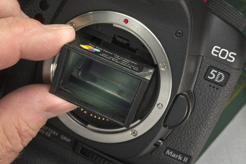Canon 5D Mark II Video Aliasing and Moire Correction Filter