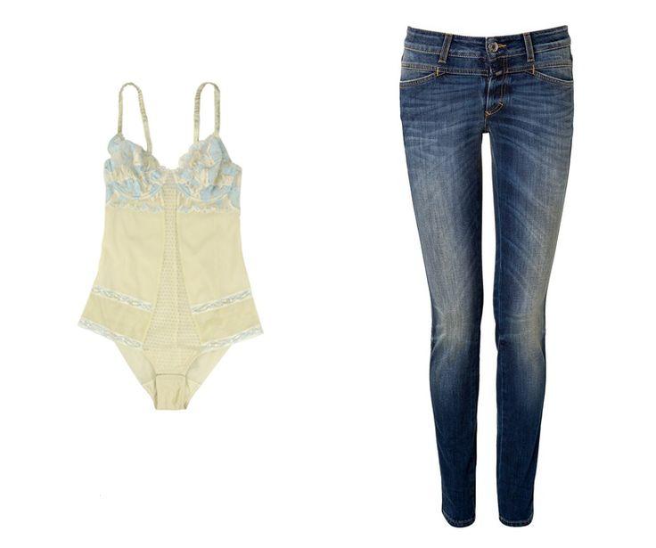 Closed jeans upgrade winter summer wardrobe styling style tips tricks body La Perla Dessous