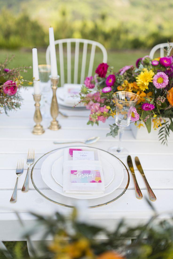 236 best australian wedding inspiration images on pinterest bright wedding ideas in a summer sorbet palette junglespirit Images