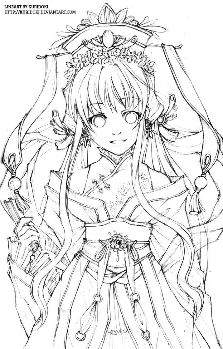 40 best inuyasha coloring pages images on pinterest - Adult manga 2 ...