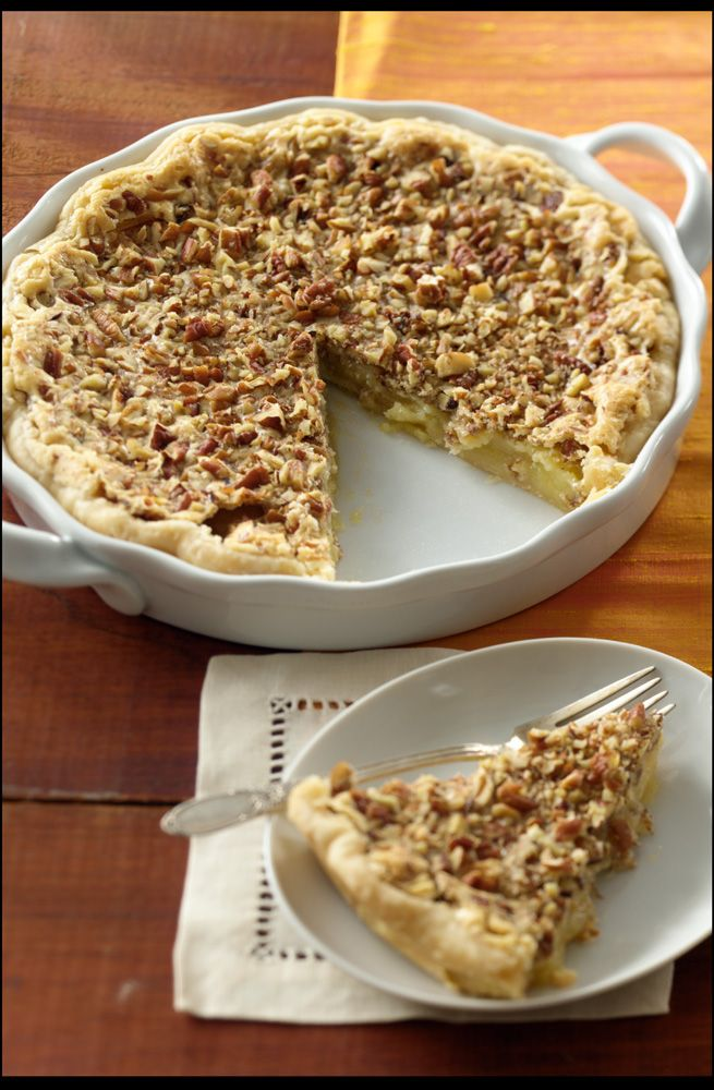 Buttermilk Pecan Pie from Pearson Farm - Read More at Relish.com
