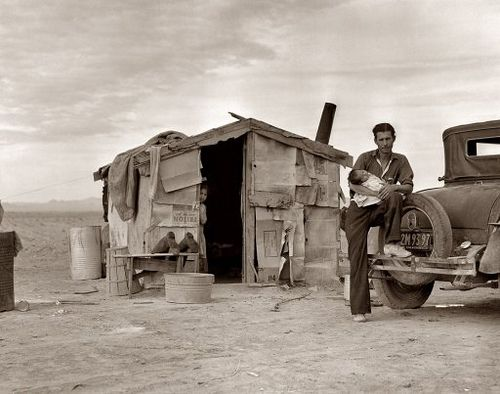 Dorothea Lange, dust bowl era