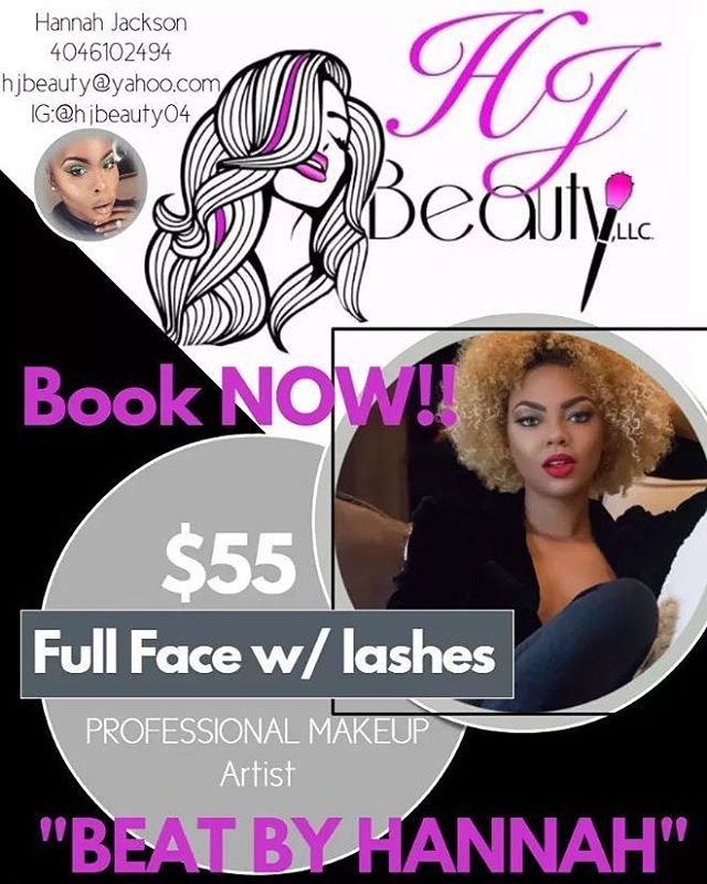 BOOK YOUR NEXT APPOINTMENT TODAY $55 FULL FACE W/ LASHES. . . . . Follow ->>>>>@hjbeauty04/@coco_blaque_gurl. #MUA #HAIRSTYLISTS #WIFE #LGBT #cosmetology #licensed #covergirl #Makeup#businessowners #blacklove #wifey #bhjacksonmanagement #female #blackbusinessowner #powercouple #moneyteam #modelmanagement #modelmanager #brandambassador #atl #atlanta #designers #photography #photographers #film #MAKEUPARTIST #HjBeauty http://tipsrazzi.com/ipost/1510593132495777364/?code=BT2tHNWji5U