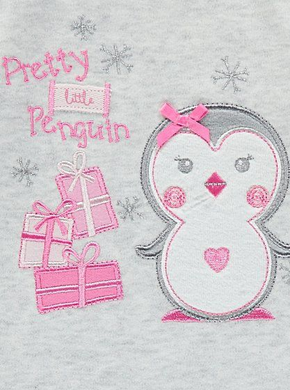 Pretty Penguin Pyjama Set, read reviews and buy online at George at ASDA. Shop from our latest range in Baby. Keep your little one pretty in pink with this u...
