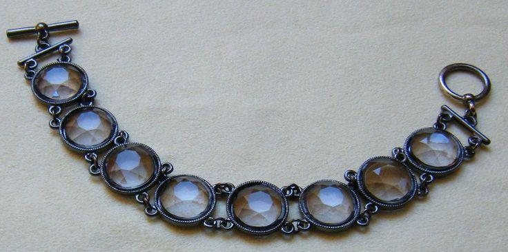 bracciale in metallo e strass, by crys_e_cri, 5,00 € su misshobby.com