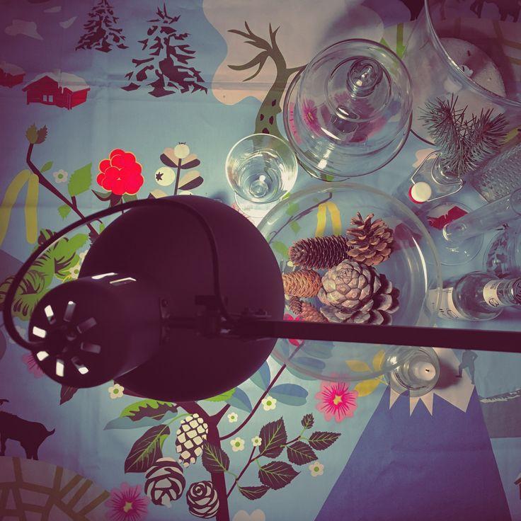 Fun Christmas table