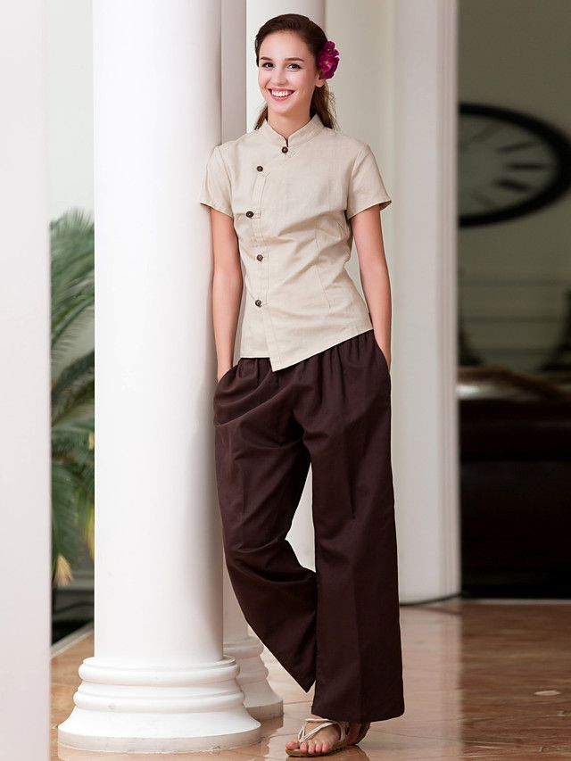 1000 ideas about spa uniform on pinterest spas beauty for Spa uniform female