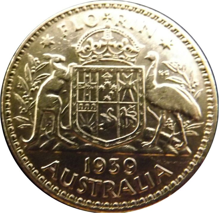 1939 Australian Florin in Extra Fine (EF) Condition. Sold for a bargain price of AU$240!