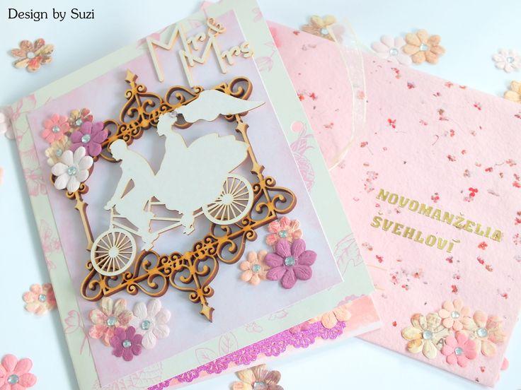 Scrapbook Wedding Greeting Card