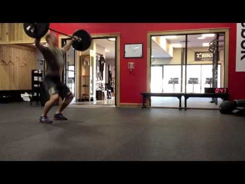 "▶ Ben Smith - 1:17 ""Isabel"" CrossFit Workout - YouTube"