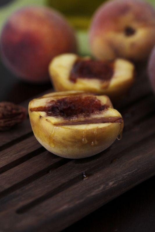 Grilled Peaches via @Paula - bell'alimento: Peaches Mmmmm, Foodie, Sweets, Grilled Peaches, Peaches Paula, Peaches Via Paula, Appetizers