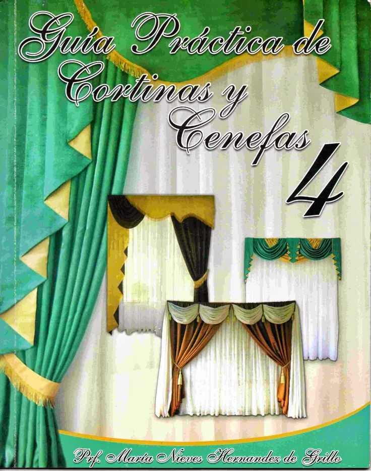 117 best cortinas images on pinterest curtain designs - Confeccion de cortinas paso a paso ...