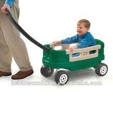 Customize plastic Kids Wagon/used kid wagon cart/manufactory in china