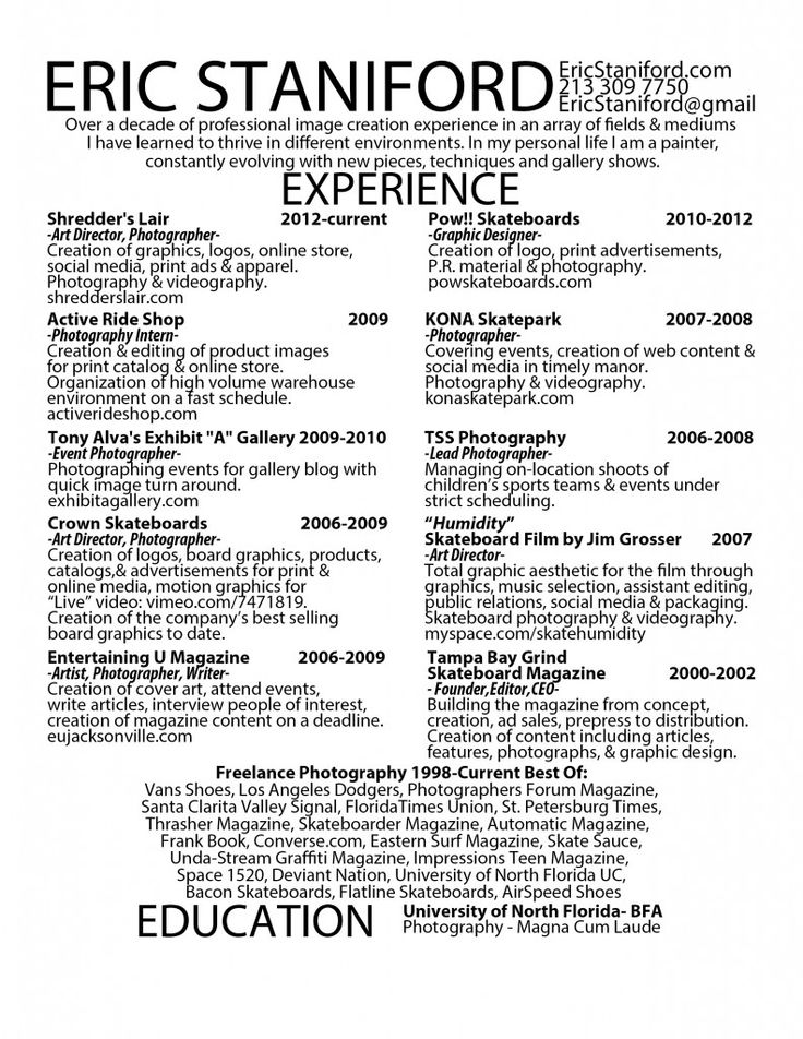 11 best resumes images on Pinterest Resume examples, Resume - construction laborer resume