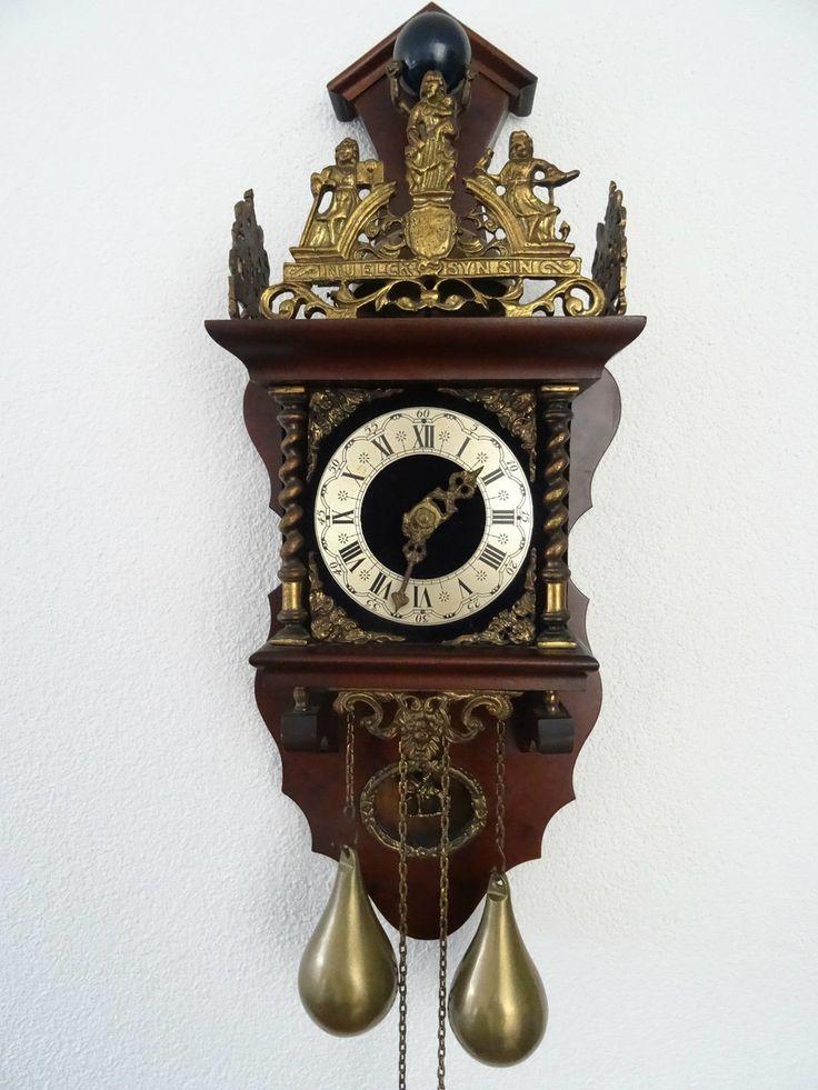 Pin Van Dutch Clocks Op Dutch Zaanse Clocks Antieke