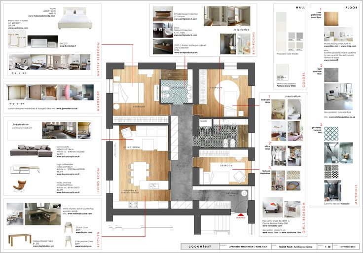 project_Apartment renovation in Rome, Italy | phase_Proposal | title_Furniture schema | architects_JoNat Architects by Joanna Chamilou◦Natasa Markopoulou | year_2015