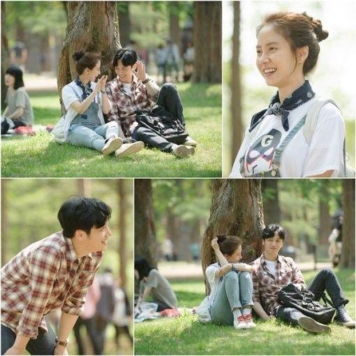 "Song Ji Hyo and Byun Yo Han Look Like Real Couple in ""Ex-Girlfriend Club"""