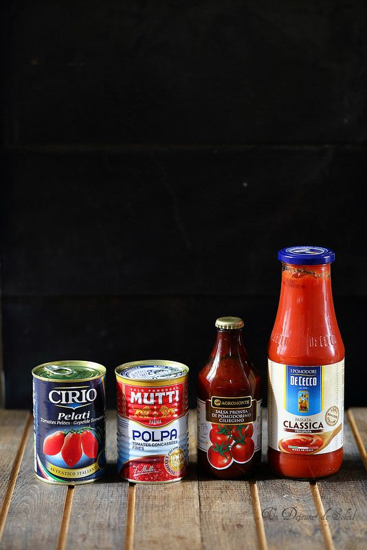 Quelles sauces tomate choisir ? Meilleures marques et des conseils