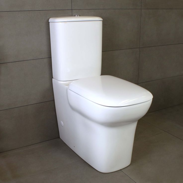 Eden Wall Faced Toilet Suite 670mm deep 670