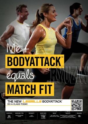 I miss BodyAttack at my gym!