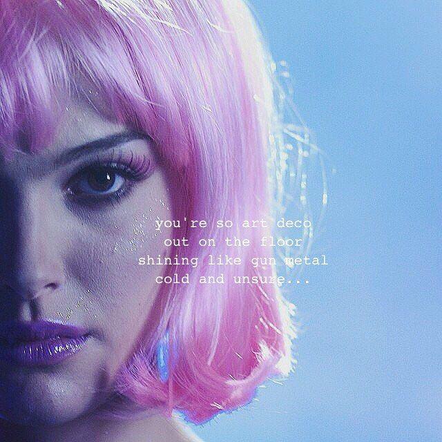 94 best quotes images on pinterest music lyrics lana for Art deco lana del rey
